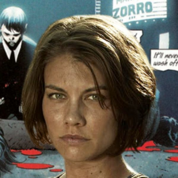 Lauren Cohan, Batman v. Superman'in Martha Wayne'i